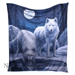 Koc Narzuta Wilki - Warriors of Winter Throw 160 cm Lisa Parker