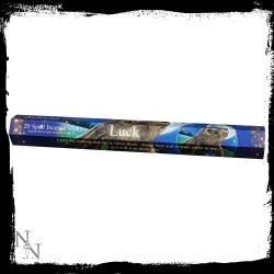 Czarne kadzidełka by Lisa Parker - Luck Spell Sandalwood Incense Sticks 24cm Lisa Parker