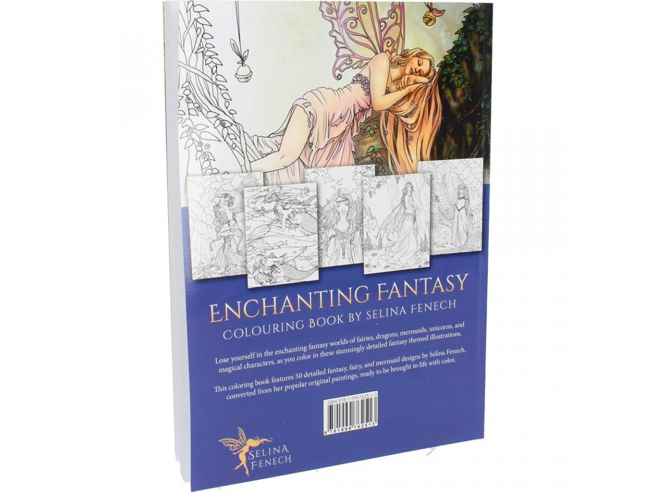 Kolorowanki Relaksacyjne Enchanting Fantasy Selina Fenech Nemesis Now