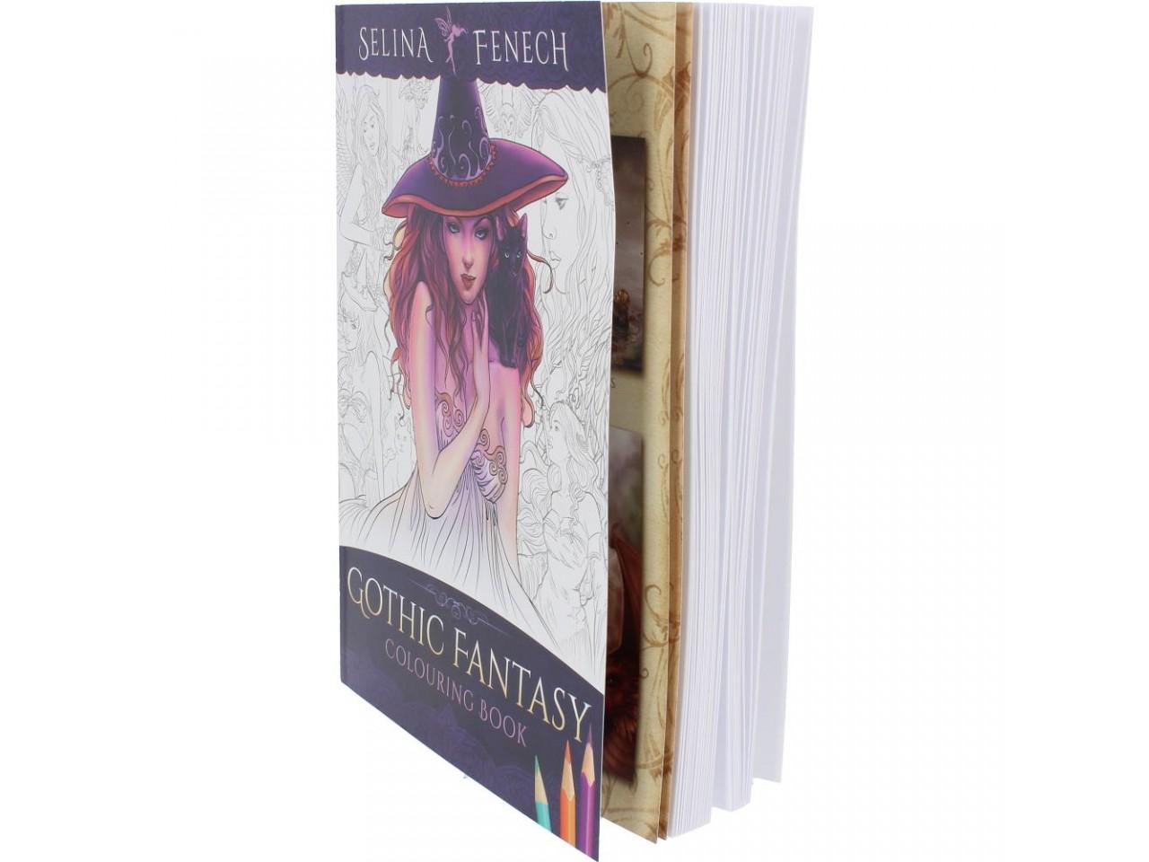 Kolorowanki Relaksacyjne Gothic Fantasy Selina Fenech Nemesis Now
