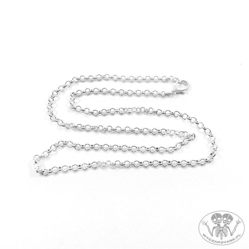 b78656ac203080 Łańcuszek w kolorze srebrnym 50 cm