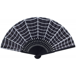 Wachlarz retro - Sourpuss Spiderweb Fan