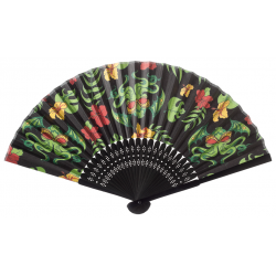 Wachlarz retro - Sourpuss Tropicthulu Fan